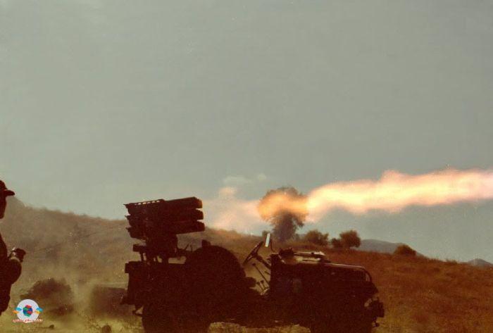Подборка всевозможного оружия в действии (50 фото)