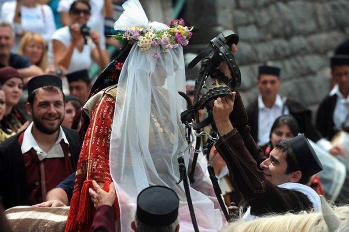 Свадьба в Галичнике в Македонии