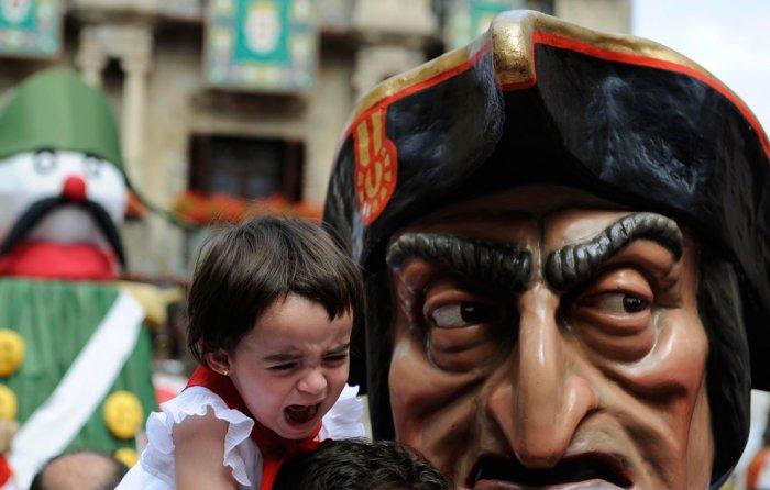 Знаменитый испанский фестиваль Сан-Фермин