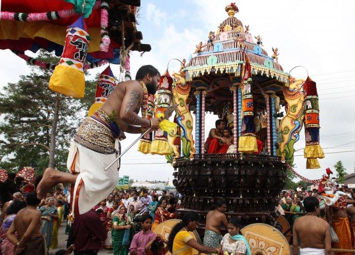 Фестиваль Ганеша