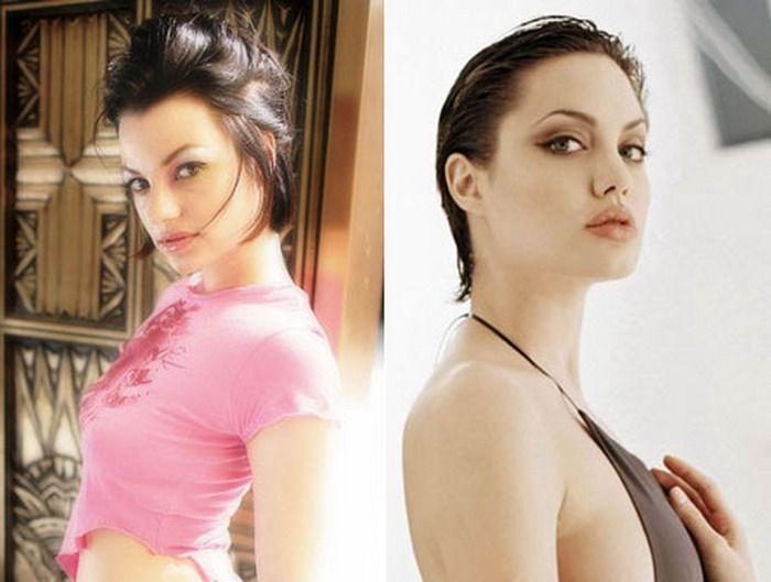 Сходство порнозвезд и знаменитостей (20 фото)