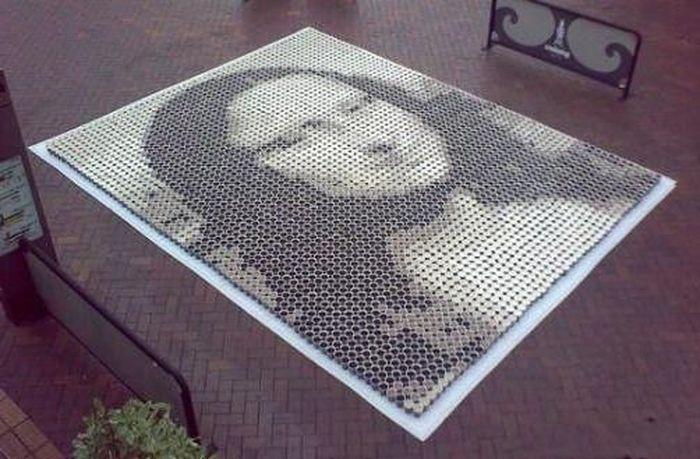Необычная мозайка (10 фото)