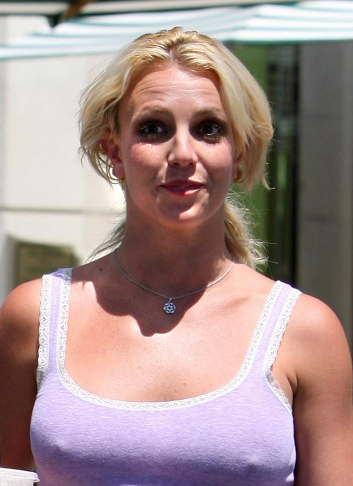 Britney spears nipple slips