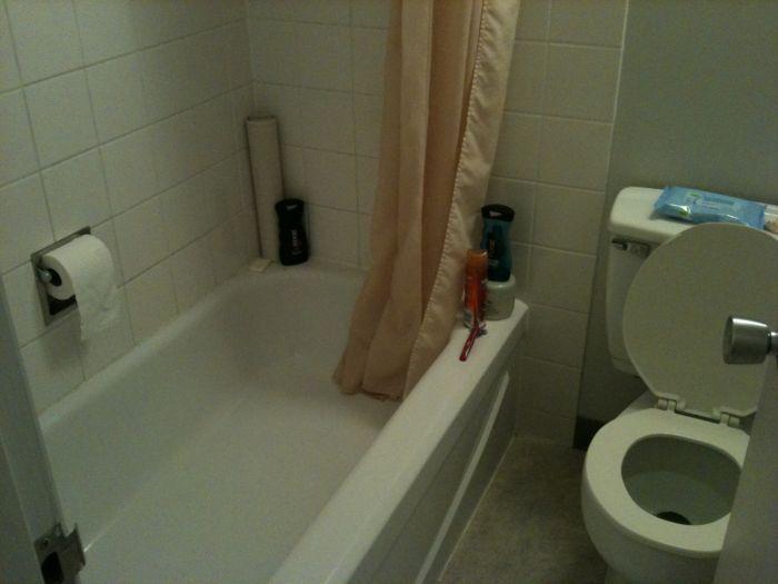 Туалет в гостинице. Жесть.