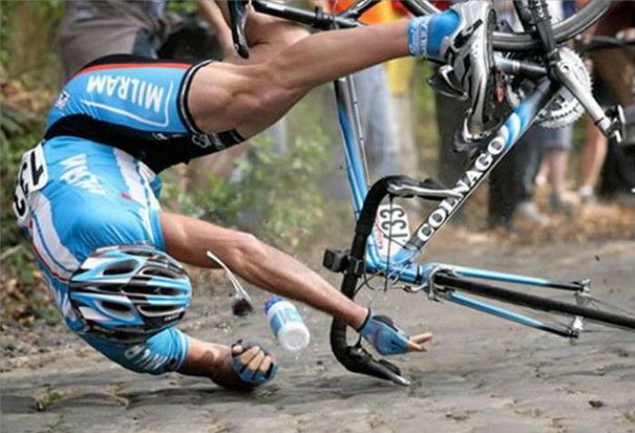 Неудачи на велогонках (20 фото)