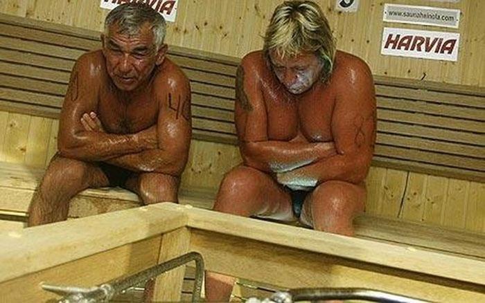 Трагедия на ЧМ по спортивной сауне (4 фото)