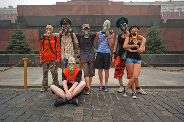 Флешмоб на Красной площади (11 фото)