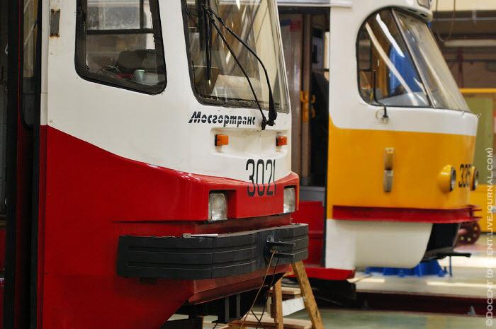 Строгинское трамвайное депо (49 фото)