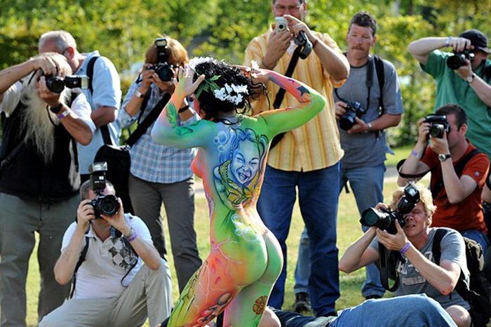 Международный фестиваль боди-арта