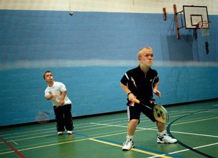 Соревнования для маленьких людей (10 фото)