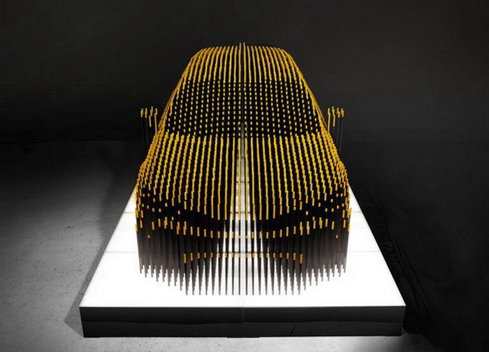 Инсталляция Lexus CT Umbra (5 фото)