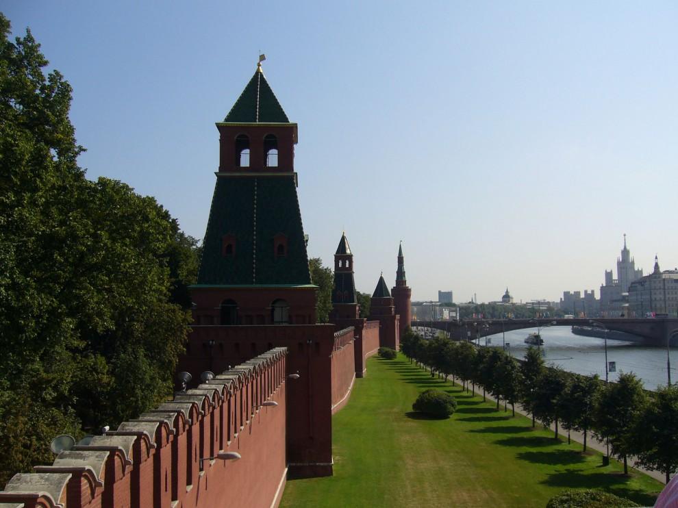 Стены кремля фото