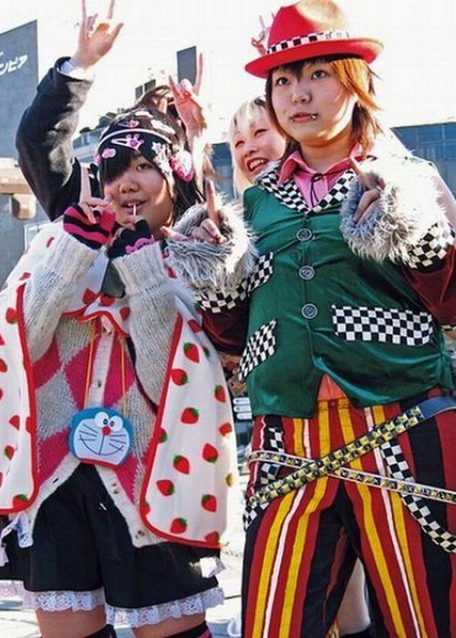 Мода по-японски (40 фото)