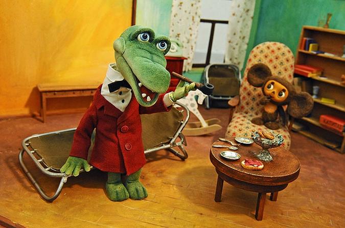 Выставка кукол киностудии «Союзмультфильм» в Подмосковье