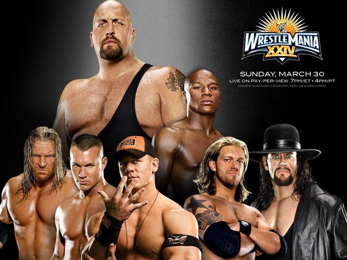 Лучшие бойцы крупнейшей в мире федерации рестлинга WWE (40 фото)