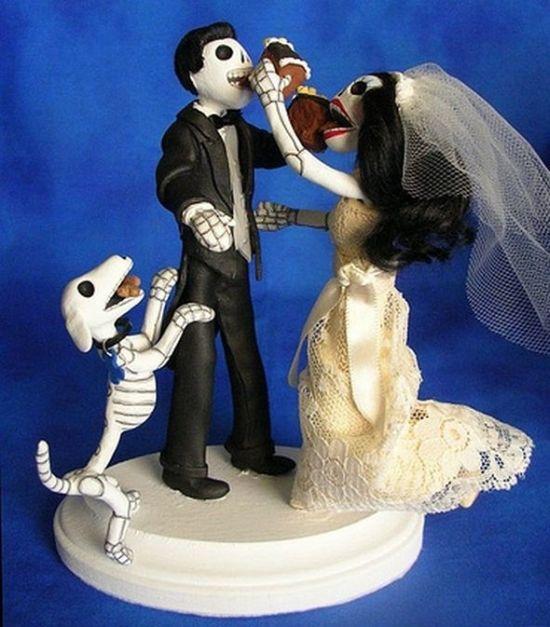 Самые смешные и дурацкие свадебные торты (18 фото)