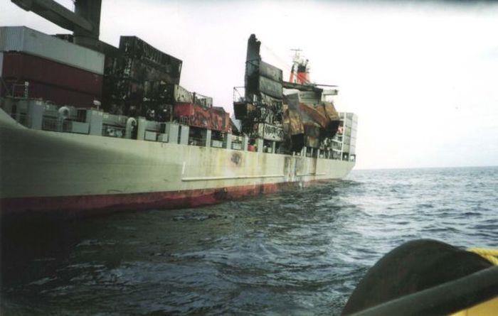 Неудачные морские перевозки (58 фото