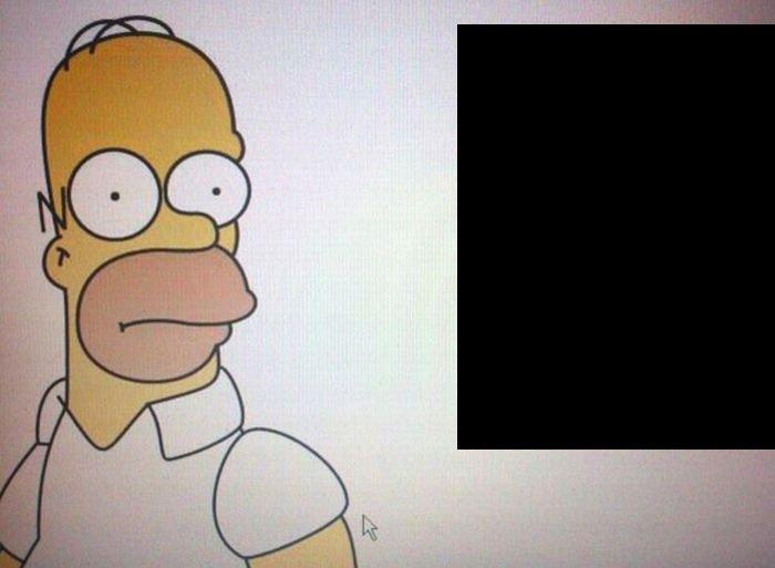 Обнаружен двойник Гомера! (2 фото)