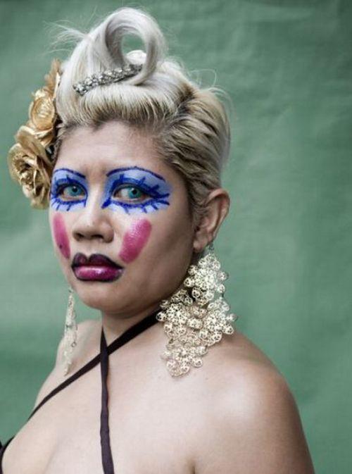 прикольные картинки макияж для себя идеи примеры эскизов