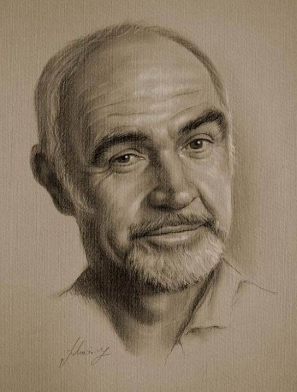 Шикарные портреты знаменитых людей 18