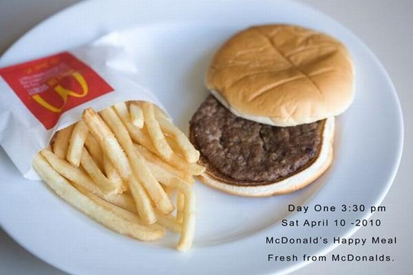 Гамбургер, который не портится (10 фото)