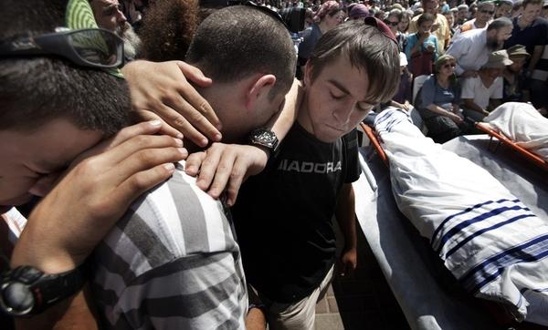Траурная церемония прощания с жертвами теракта (8 фото)