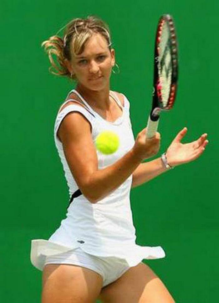 Пикантные фото теннисисток (30 фото) .