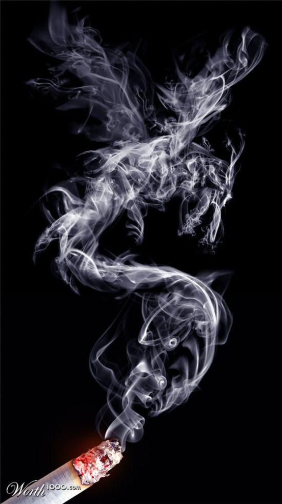 Красивый дым (23 фото)