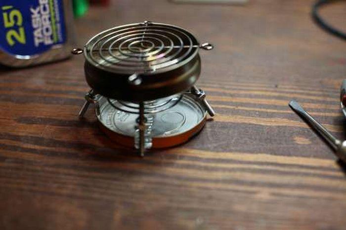 Делаем мини-барбекюшницу (8 фото)