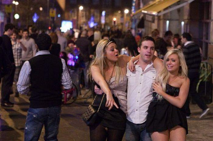 Ночная жизнь английской молодежи