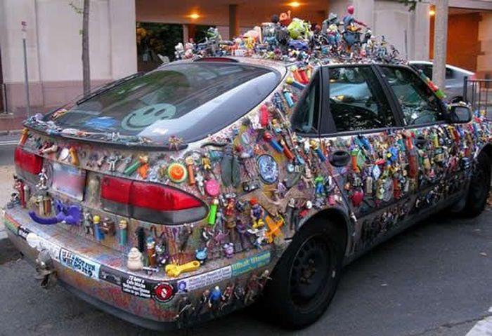 Машина для взрослого ребенка (5 фото)
