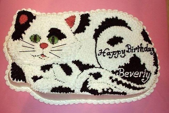 Кошачьи тортики (17 фото)