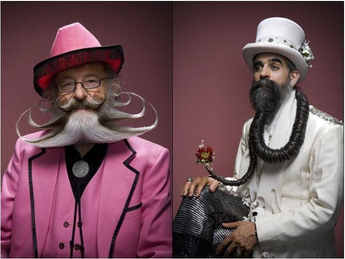 Оригинальные бороды с усами (40 фото)