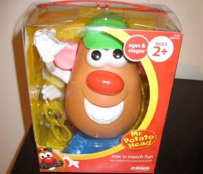 Сделанный в стиле стимпанк Мистера картофельная голова (15 фото)