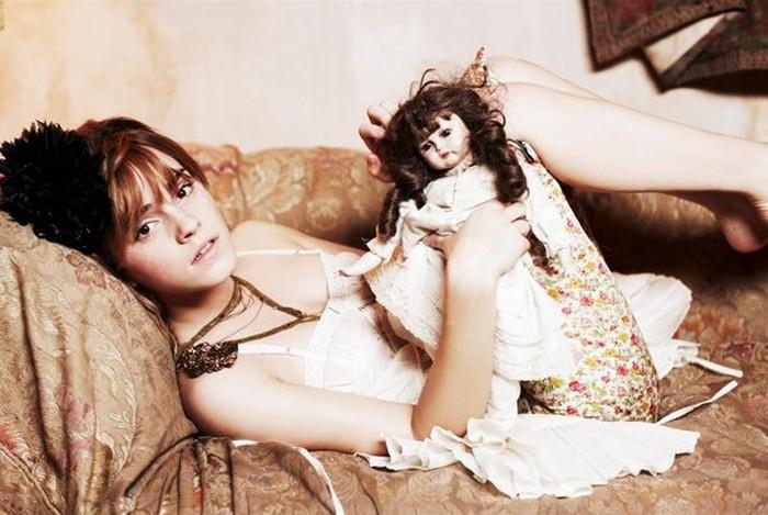 Малышка Эмма Уотсон (8 фото)