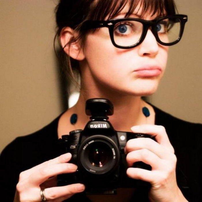 Сексуальные девчонки в очках (67 фото)