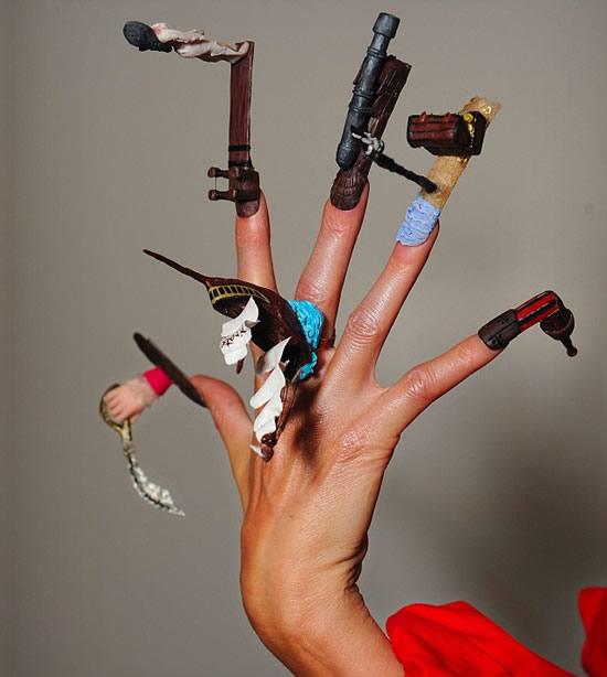 Чемпионат по ногтям (5 фото)