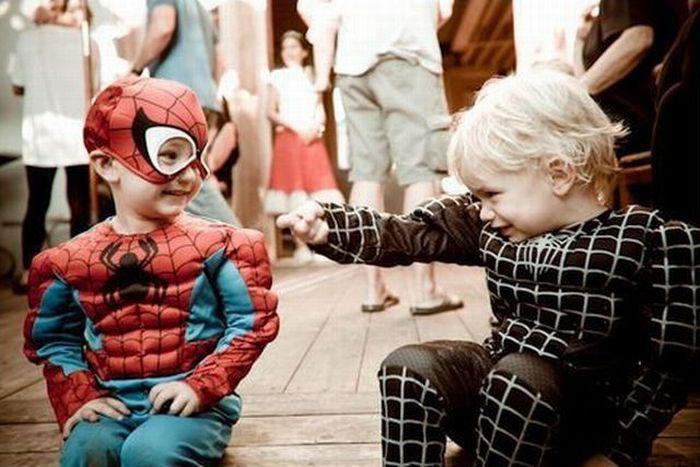 Смешные фото человек паук