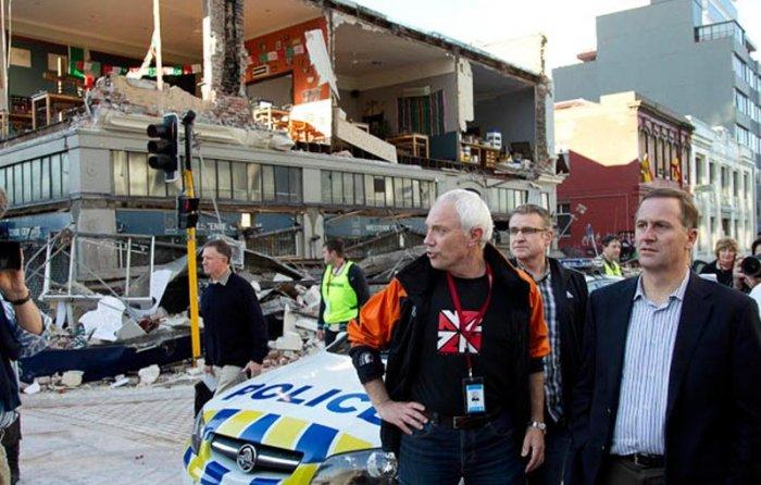 В Новой Зеландии произошло землетрясение