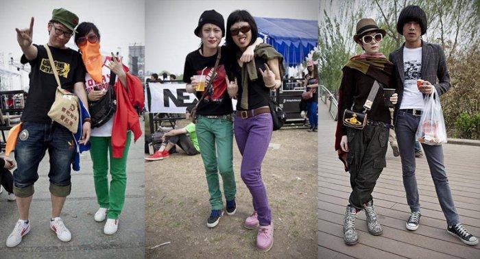 Мода на улицах китайских мегаполисов