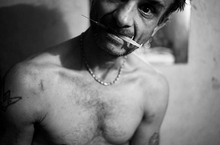 Героинозависимые наркоманы в Румынии