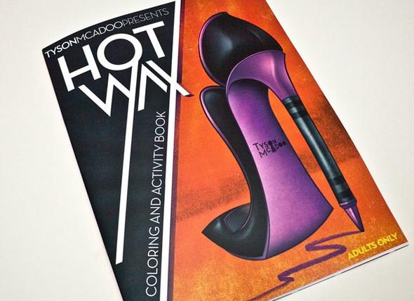 Раскраски Hot Wax для взрослых (7 фото)