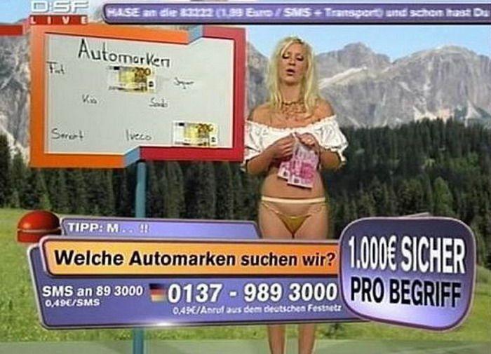 Немецкое теле-шоу (20 фото)