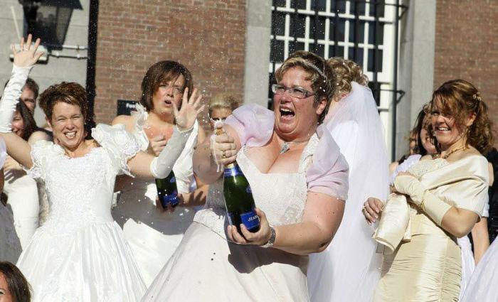 Свадьбы 10-е числа 10-го месяца 10-го года (15 фото)