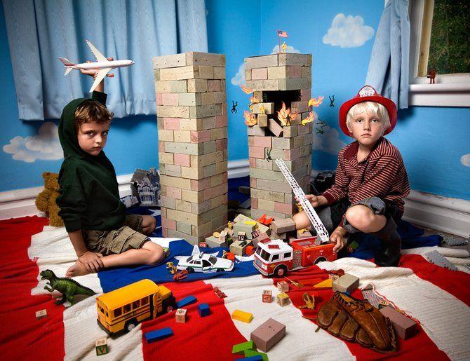 Дети и телевизор (10 фото)