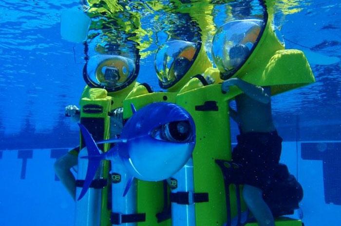 Подводный скутер (14 фото)