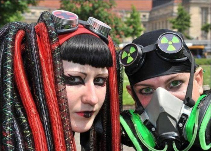 Готичный фестиваль Wave-Gotik-Treffen (47 фото)