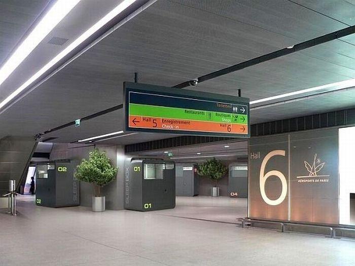 Коробки для сна в аэропортах