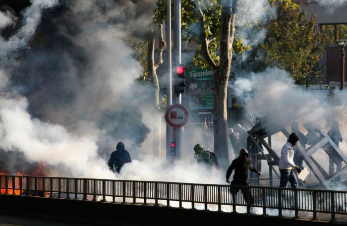 Забастовка во Франции (30 фото)
