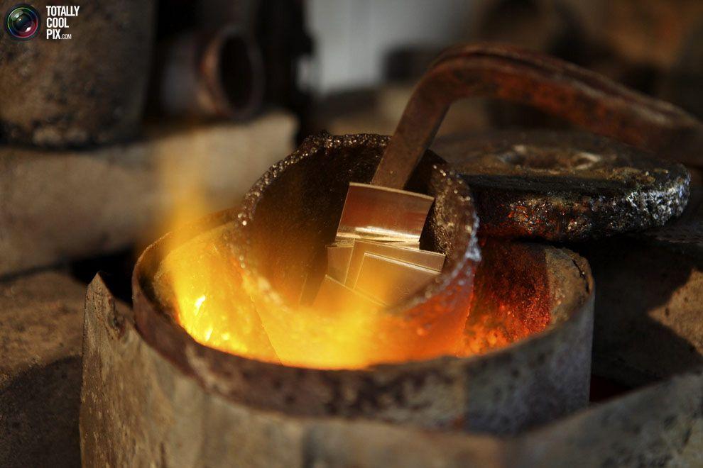 Как плавить золото в домашних условиях